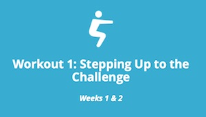 Workout 1: Stepping Up to the Challenge